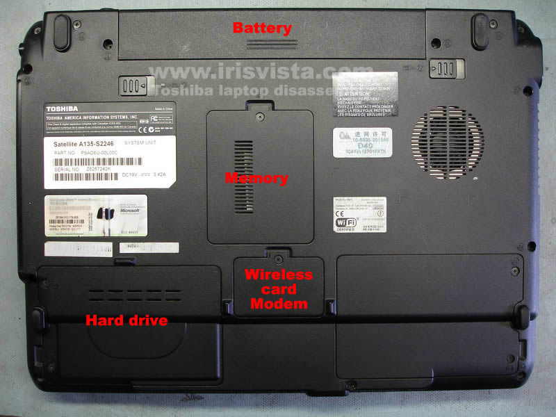 Toshiba Laptop Parts Diagram Photo Album Diagrams