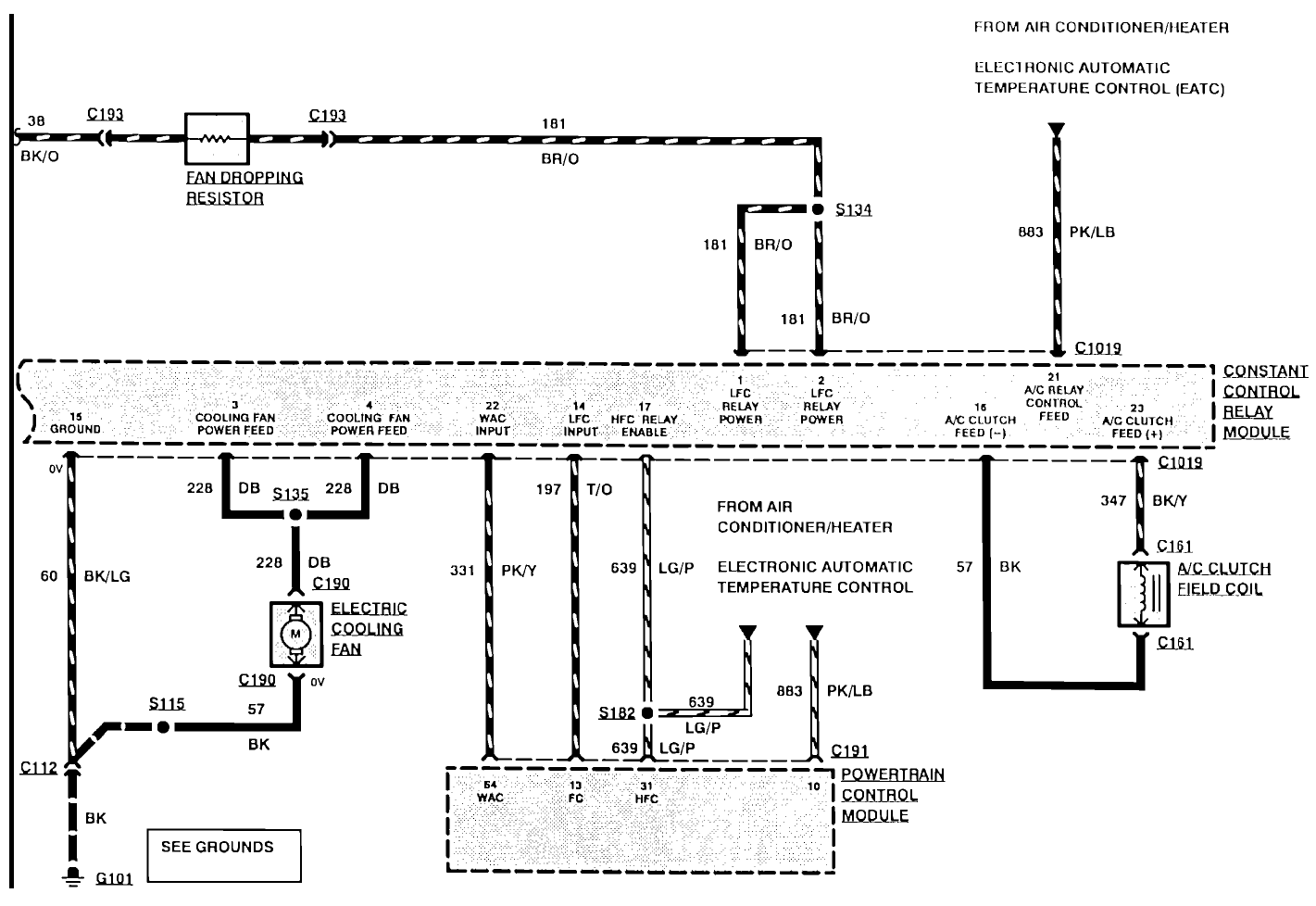 93 ford taurus cooling fan i turn key fuel rail radiator