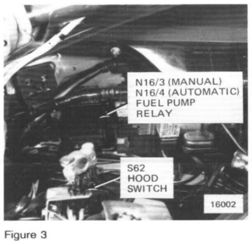 Relay on Mercedes Benz 1991 190e Fuel Pump Diagram