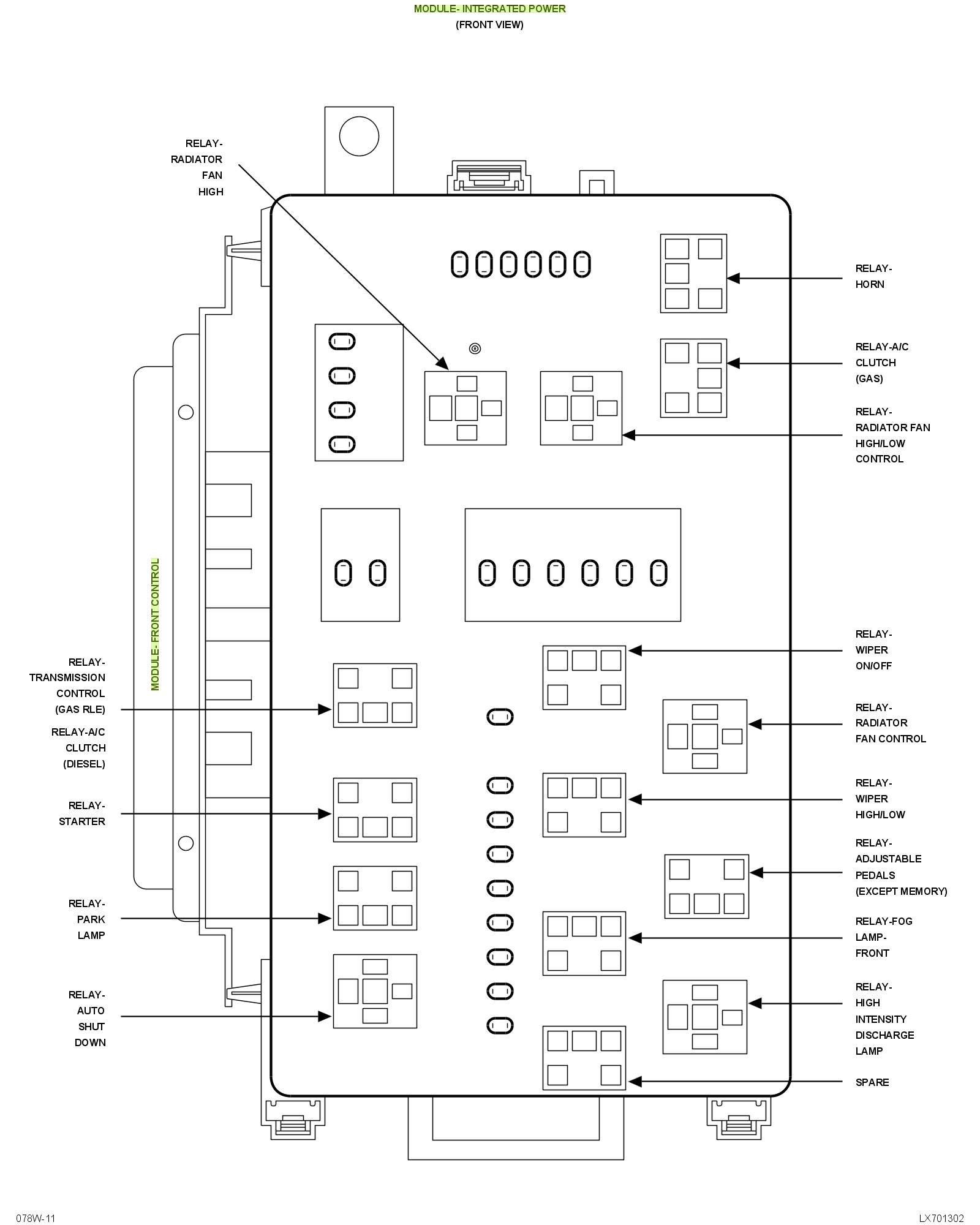 2007 Charger Fuse Box Diagram