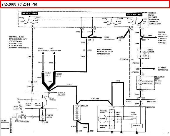 Need A Starter Wiring Diagram For A 1984 Carlo