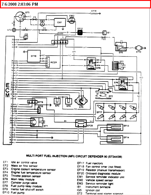 defender 90 wiring diagram land rover 90 wiring diagram