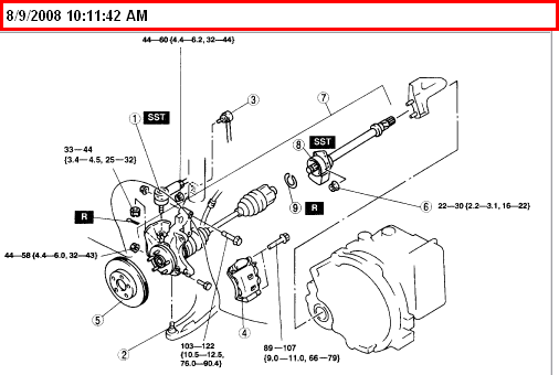 i u0026 39  u0026 39 m trying to remove the alternator from a 2001 mazda mpv  i u0026 39  u0026 39 ve removed both front tires for