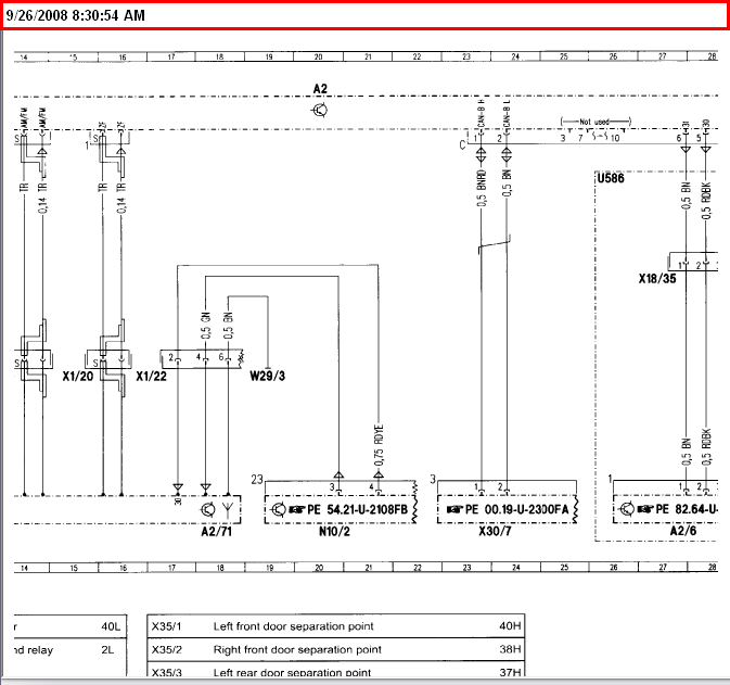 2003 Mercedes C230k Sport Sedan Stereo Wiring Diagram