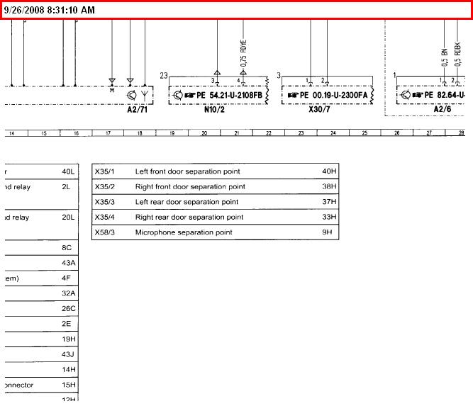 2003 mercedes c230 k sport sedan stereo wiring diagram
