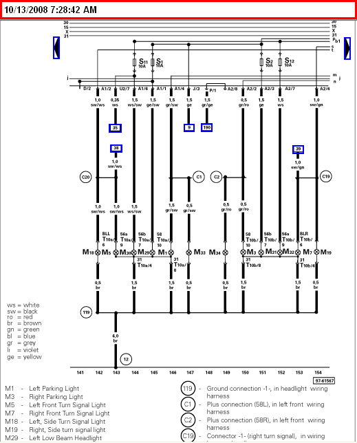 i require to down load a wiring diagram fo a vw cabrio golf graphic
