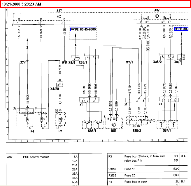 1994 s320 wiring diagram disconnected black box central locking