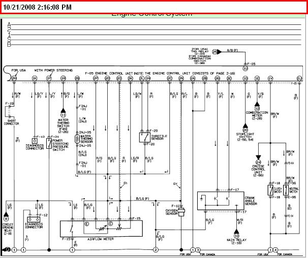 mazda miata emissions electrical wiring diagram maf sensor etc