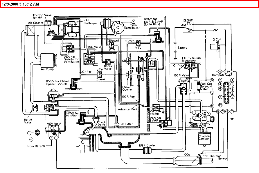 Intake Valve Location in addition Viewtopic further 2001 Ford Escape Engine Diagram Spark Plug besides 3 4 Crank Sensor Location 09 likewise 1999 Isuzu Rodeo Engine Fuse Box Diagram. on toyota fuel pump wiring diagram