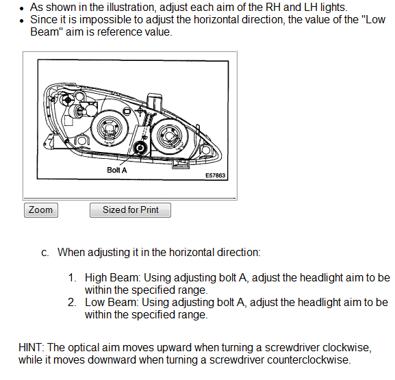 How Do I Adjust 2002 Camry Headlights