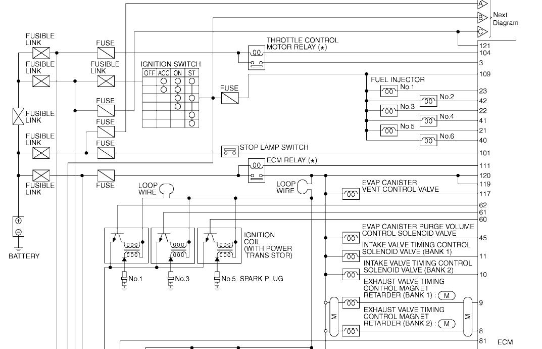 wiring diagram for a 2006 350z grand tour coup for the ecu ecm