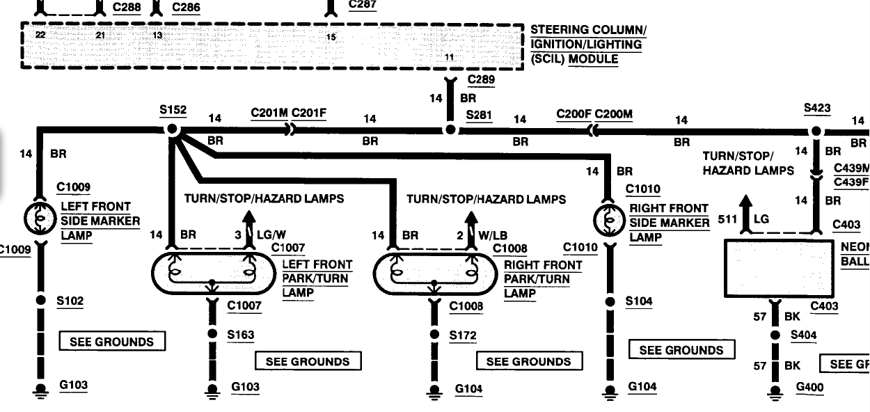 1993 lincoln mark viii fuse box diagram
