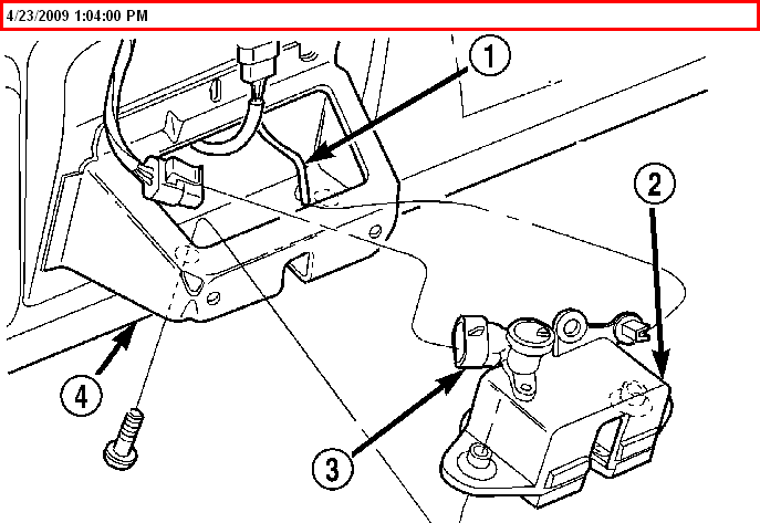 2005 dodge grand caravan liftgate diagram