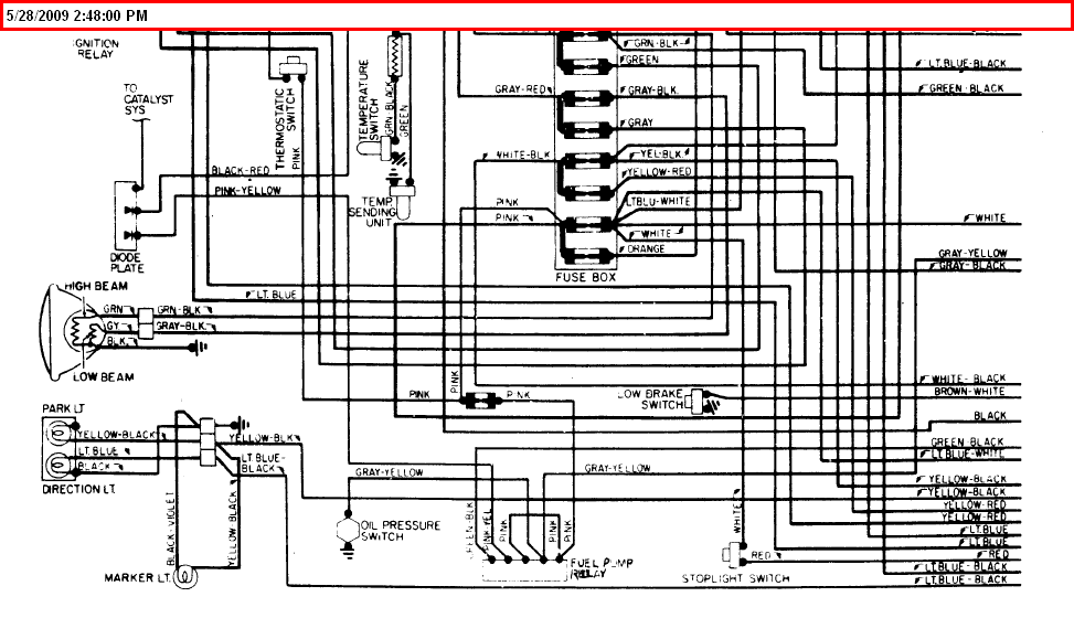 i need a diagram for the ignition wiring for a 1975 fiat