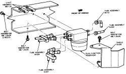 1986    f150     front    fuel    tankmechanical   diagram    of the    fuel       system