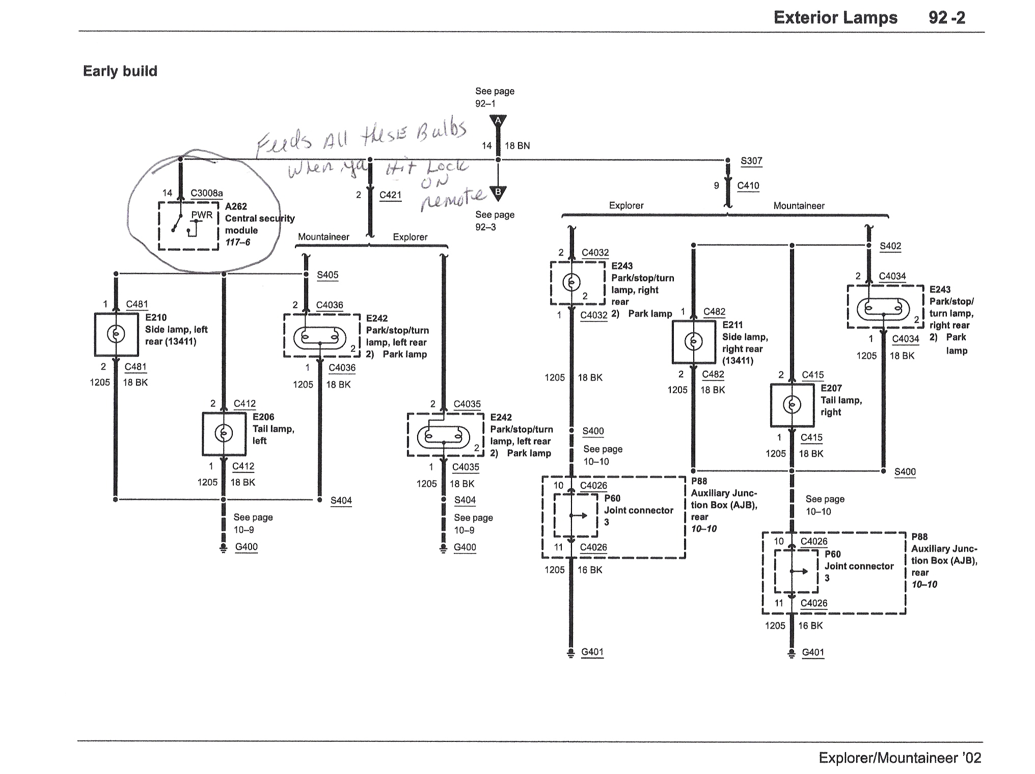 Ford Escape Security Alarm Wiring Diagram