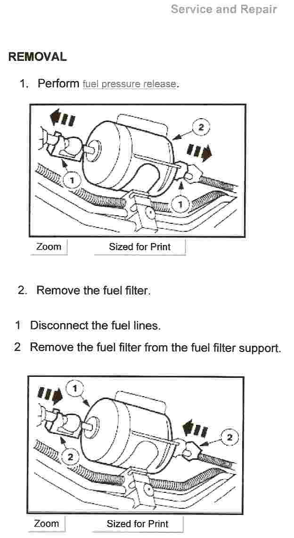 Fuel Filter On A 1998 Ford Explorer  U0026 How Do I Change It