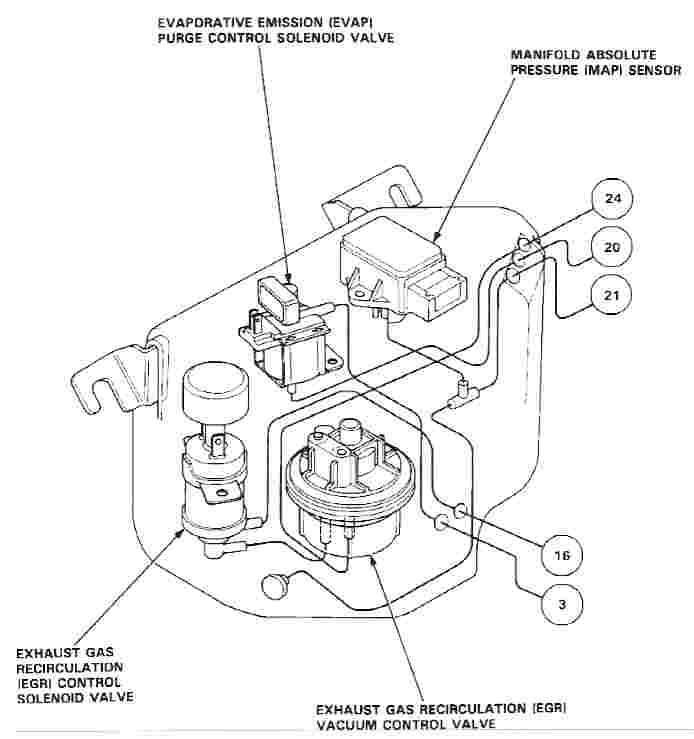 1993 Honda Accord Map Sensor Location