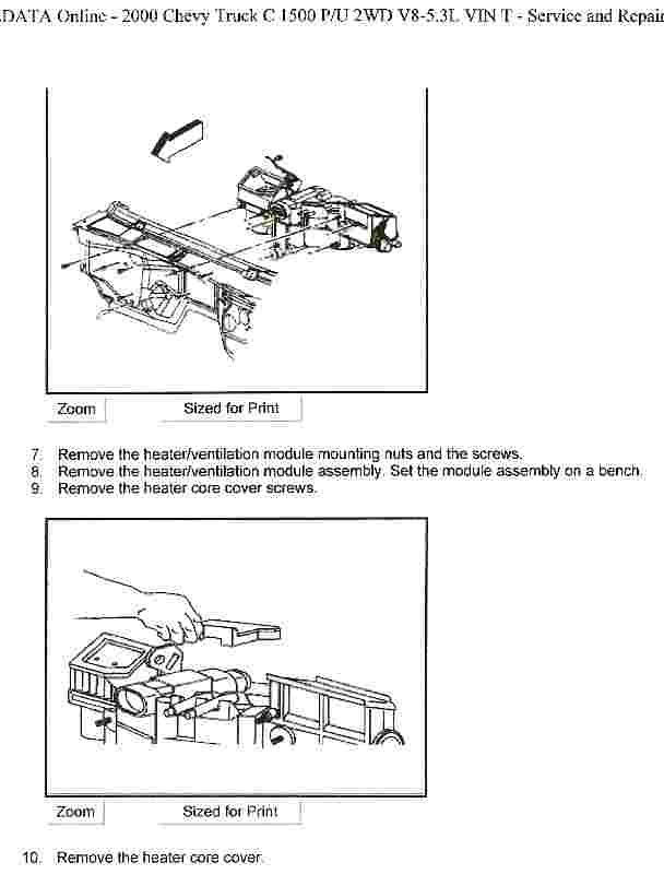 How Do You Replace A Heater Core On A 2000 Chevy Silverado  What U0026 39 S The Trick To Get The Plastic