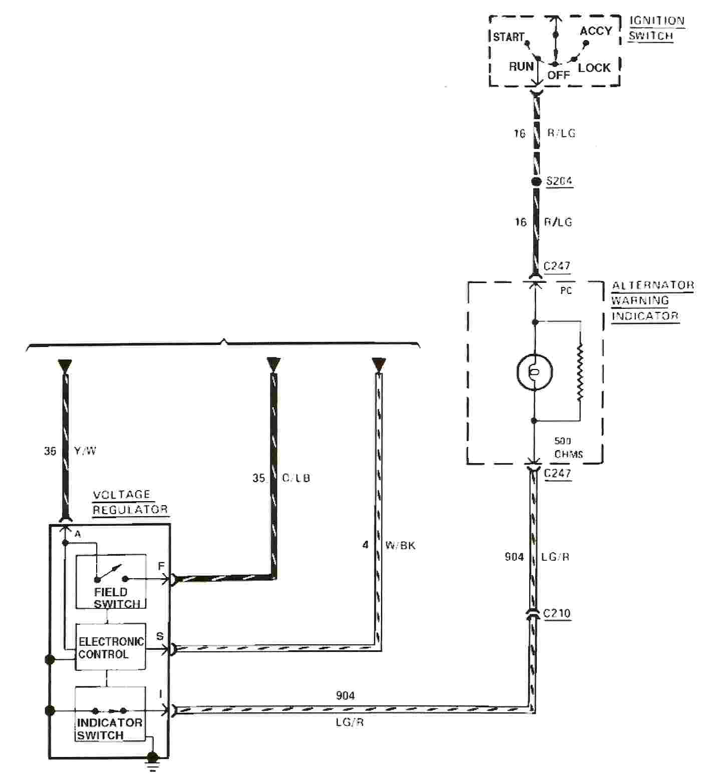 1984 Mustang Radio Wiring Data Diagrams 1980 Diagram Svo 1995 F250 Convertible