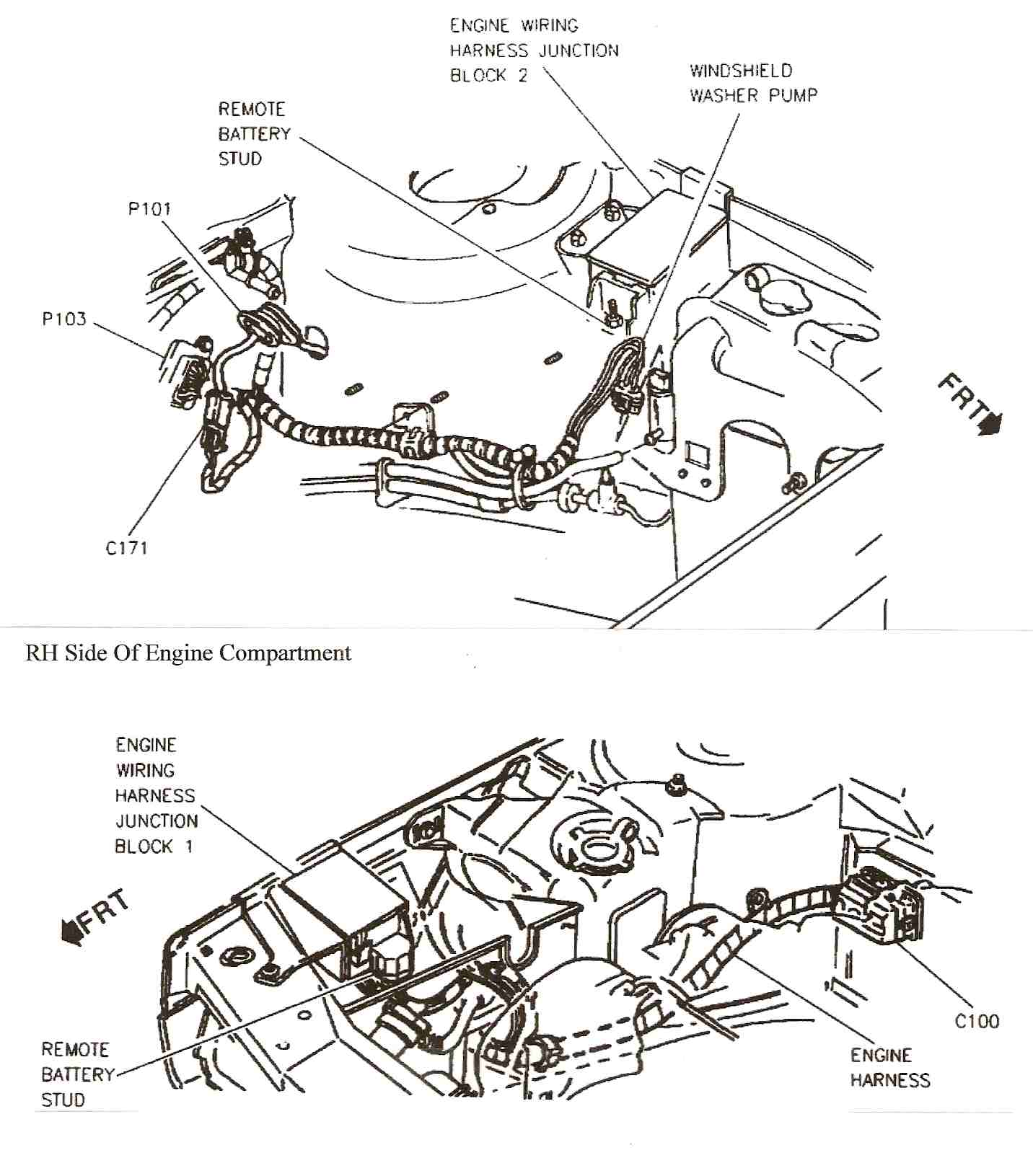 where is the fuel pump relay switch located on 98