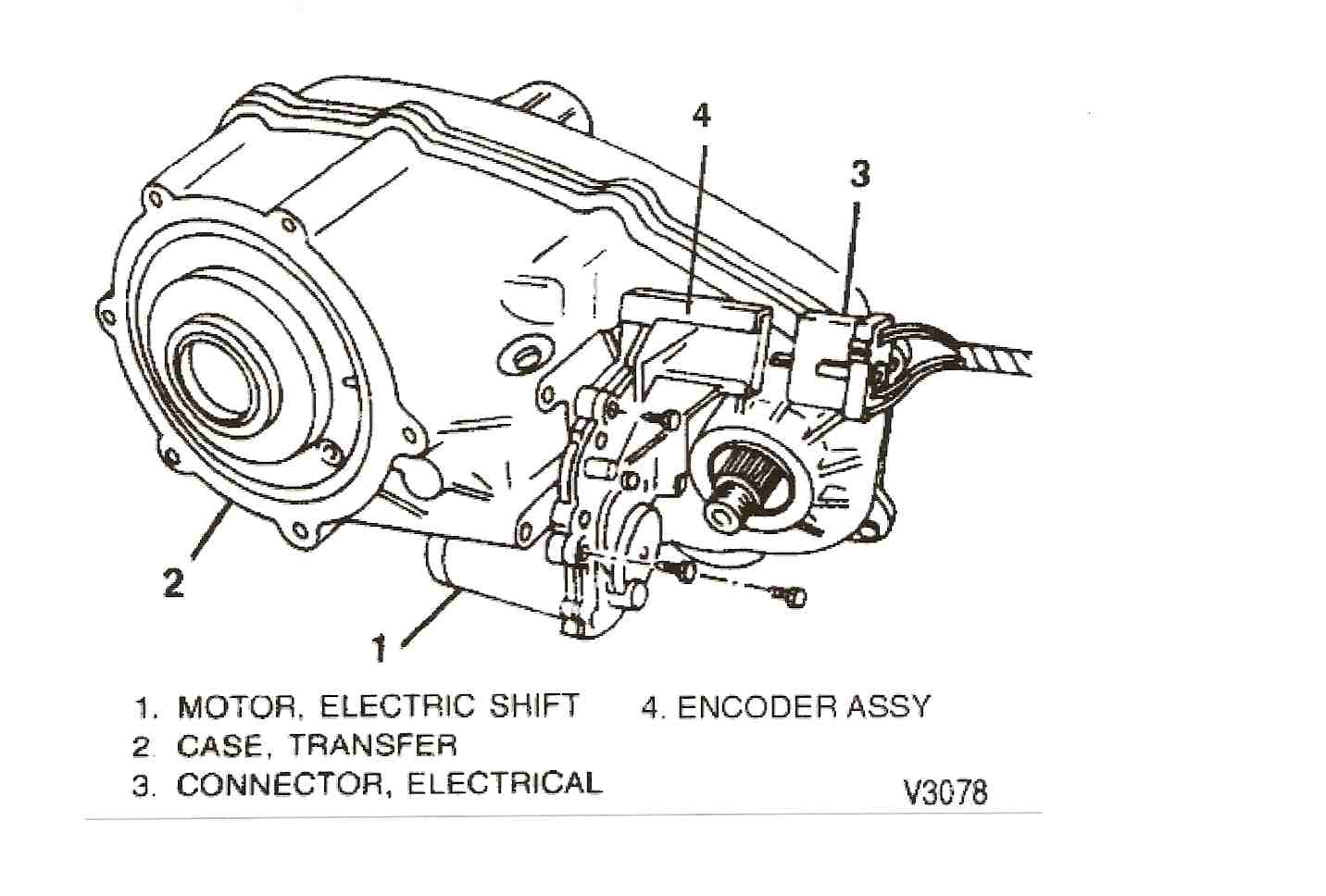 chevy blazer transfer case diagram 98 chevy blazer, transfer case shifter does not shift. it ... #1
