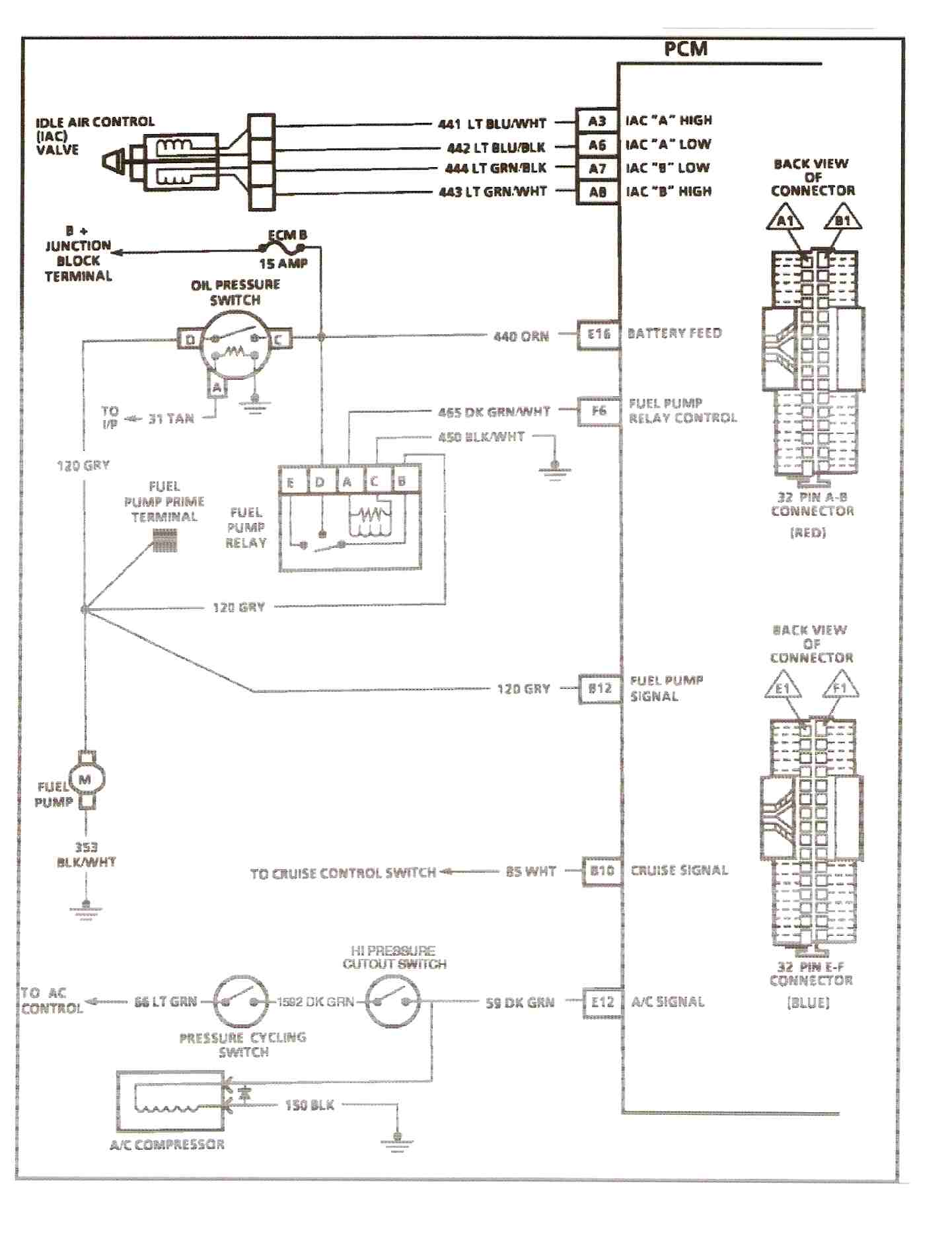 31 1990 Chevy 1500 Fuel Pump Wiring Diagram