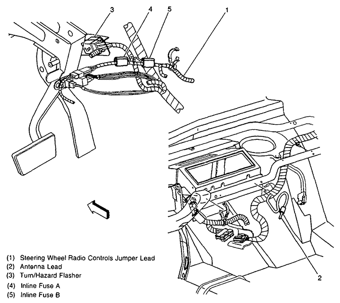 Chevy Silverado Flasher Location Wiring Diagrams Image
