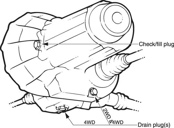 Where Is The Transmission Fluid Drain Plug On A 2005 Toyota Corolla