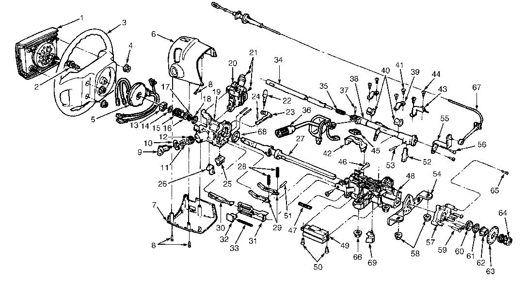 1985 ford e150 wiring diagram how to replace a steering wheel bearing in a 1992 f150 #5