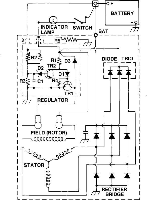 how do i convert an external regulator to a alternator. Black Bedroom Furniture Sets. Home Design Ideas