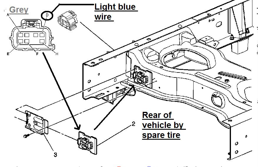 I Have A 2004 Chevy Silverado  1500  Shortbed  My Left Rear Brake Light Does Not Work  Both The