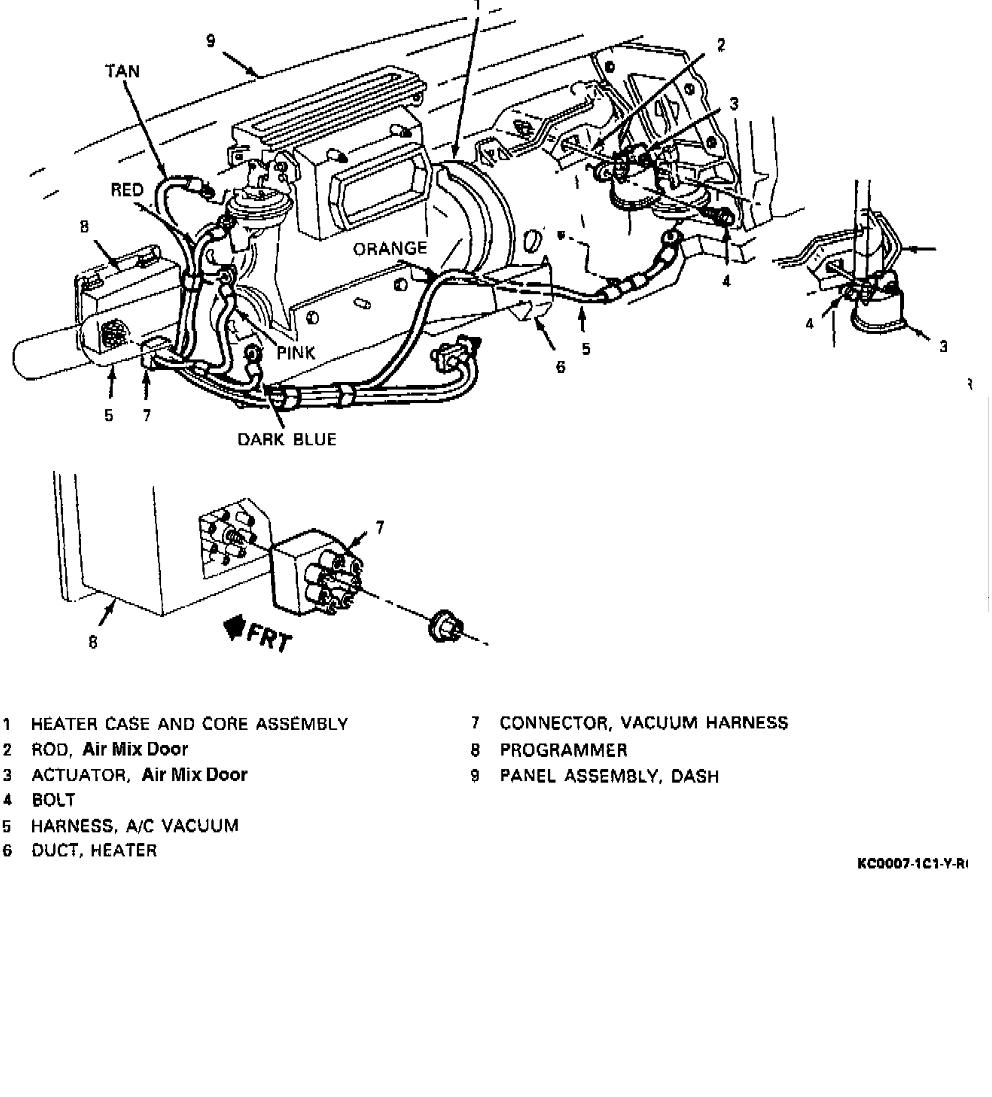 86 Chevy Suburban Ac And Heating Wiring Diagram