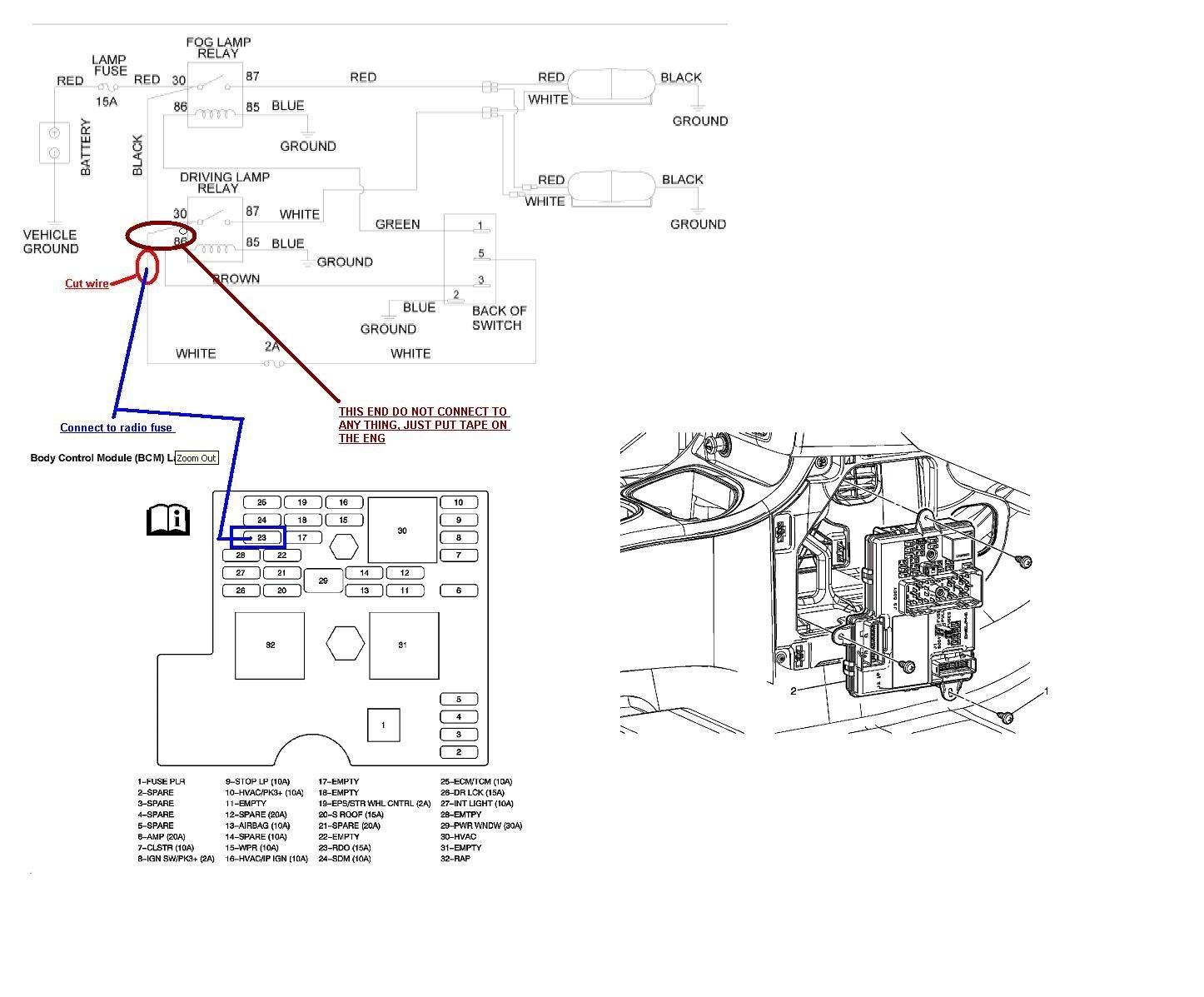 Fog Lamp Electrical Wiring Diagrams For Dummies Diagram Saga Flx