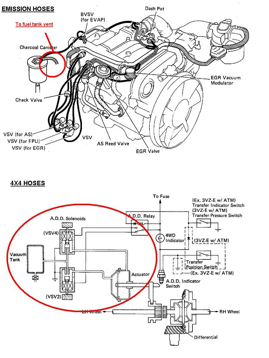 1989 toyota 3 0 v6 engine diagram wiring diagrams page Toyota L Engine