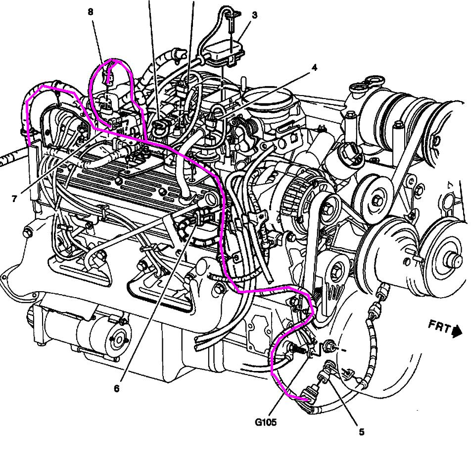 1997 chevy tahoe engine diagram  engine  auto parts