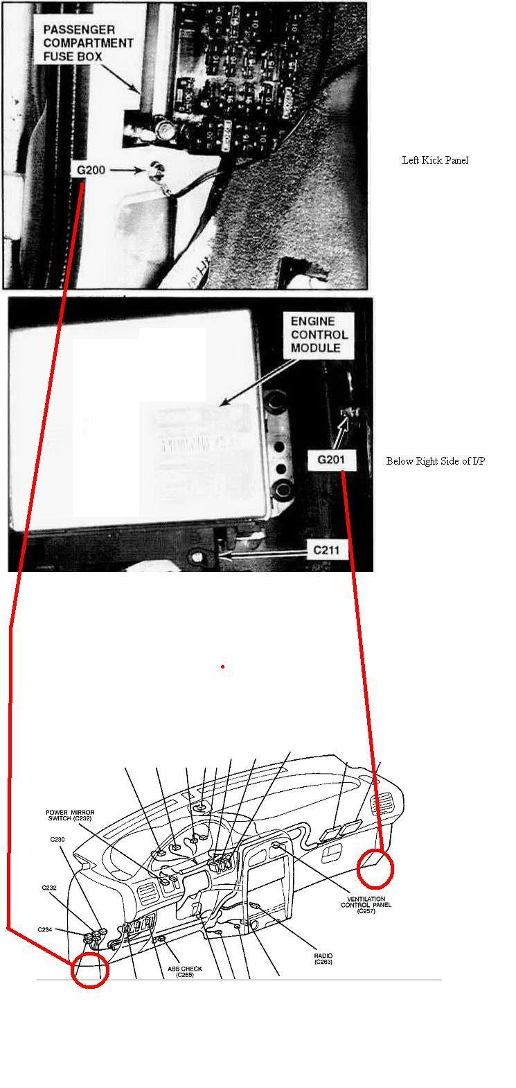 96 kia sportage engine diagram