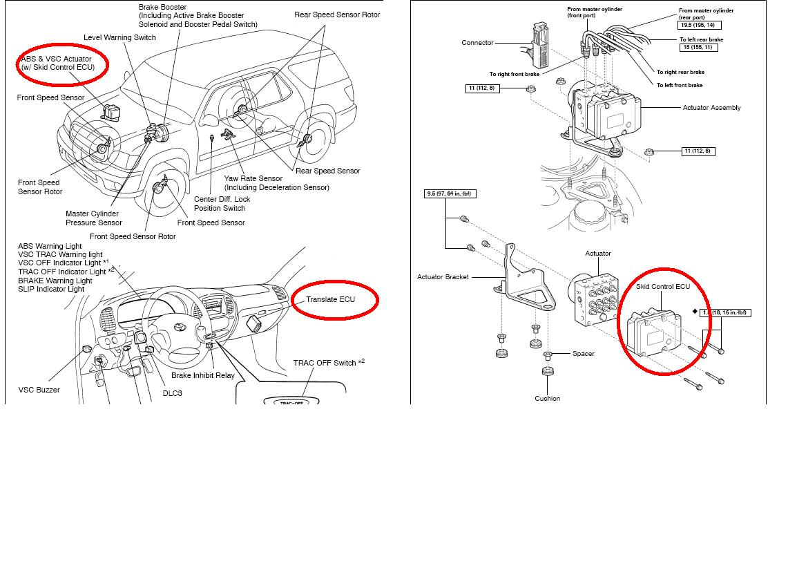 2003 Toyota Sequoia Skid Control Parts Diagram Great Installation 2001 I Haved An 02 With Chip And Translate Ecu Rh Justanswer Com