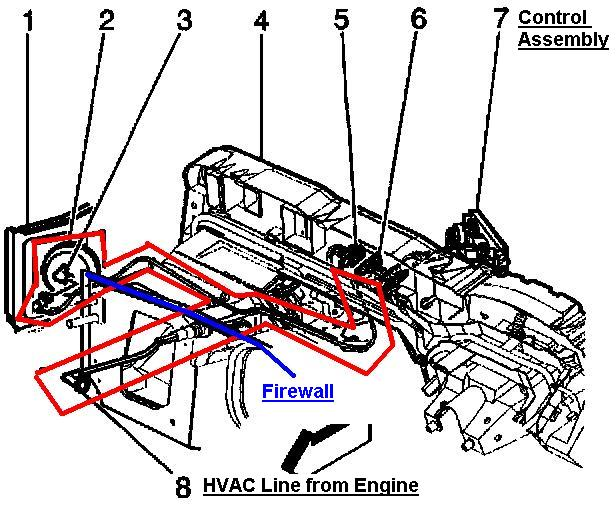 I Need A Diagram  Picture For A 2000 Astro A  C System  My