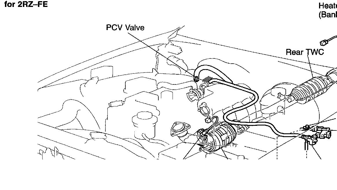 toyota camry idle air control valve location