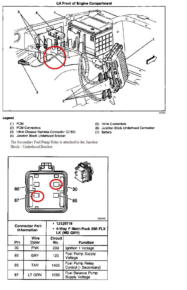 I Replaced The Fuel Pumps In My 2001  3500 Chevy Cab  U0026 Chasey  It Is Only Getting 4 99 Volts To