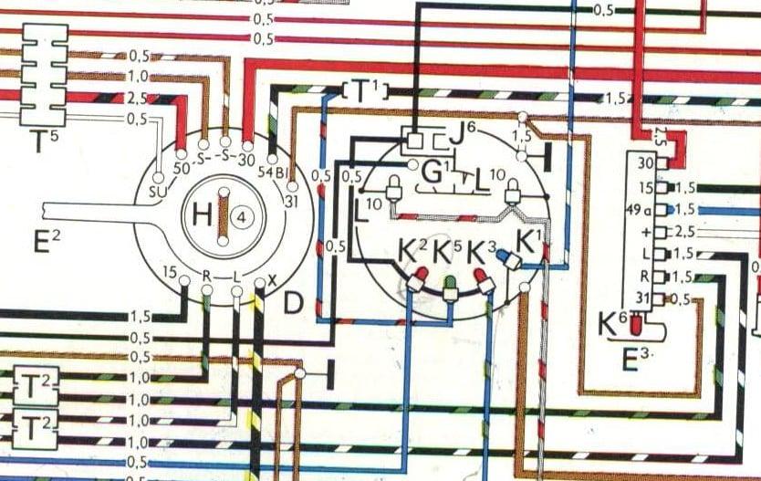 Wiring For Speedo 1978 Vw Bug