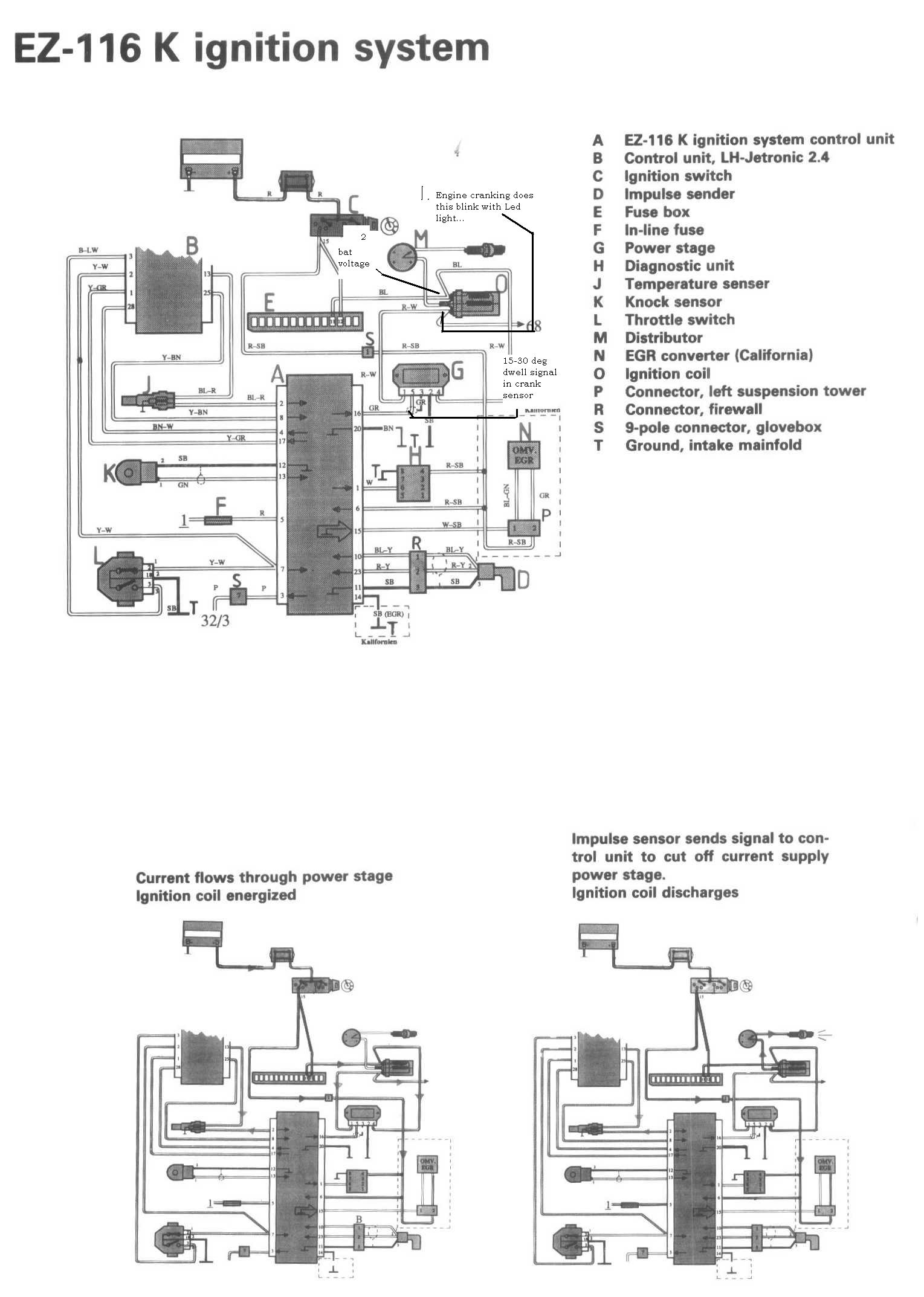1988 Volvo 240 No Spark Hall Effect Sensor Wiring Diagram Http Wwwjustanswercom Graphic