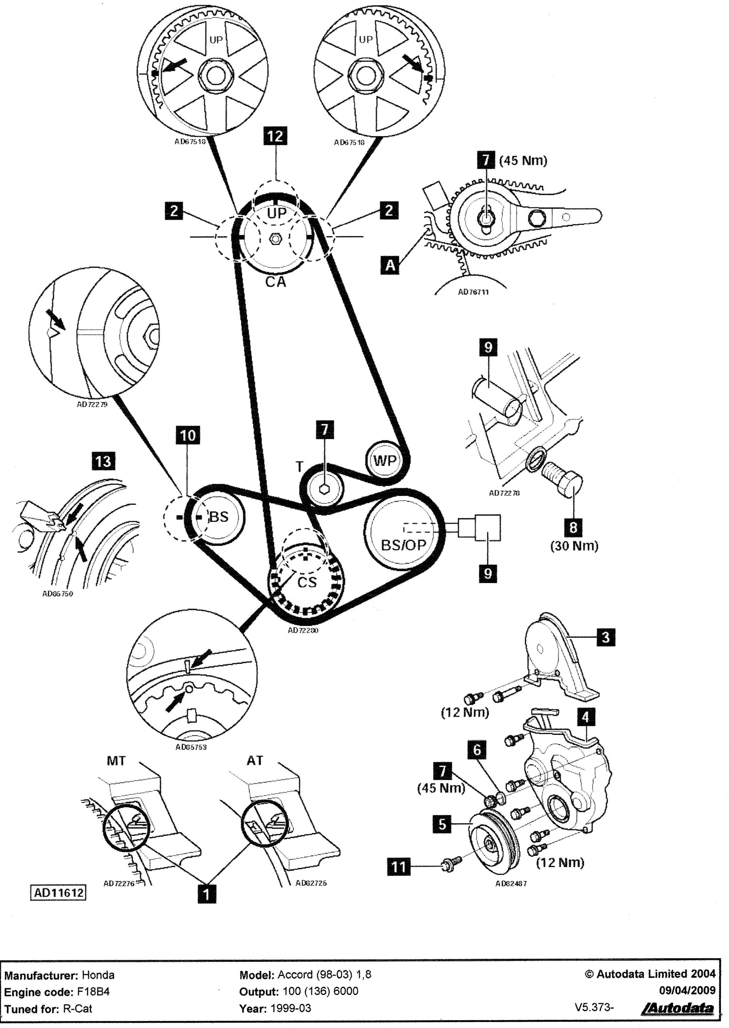 honda accord timing belt diagram   32 wiring diagram