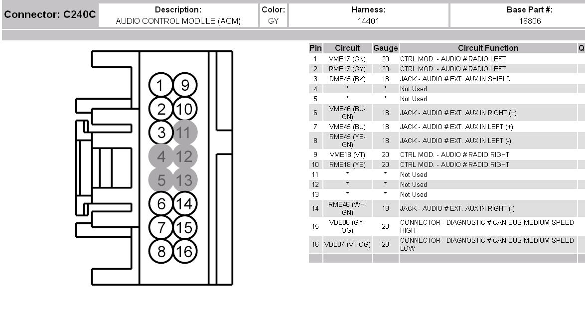 Lokking For A Wiring Diagram For The Dash On A 2008 Ford F350