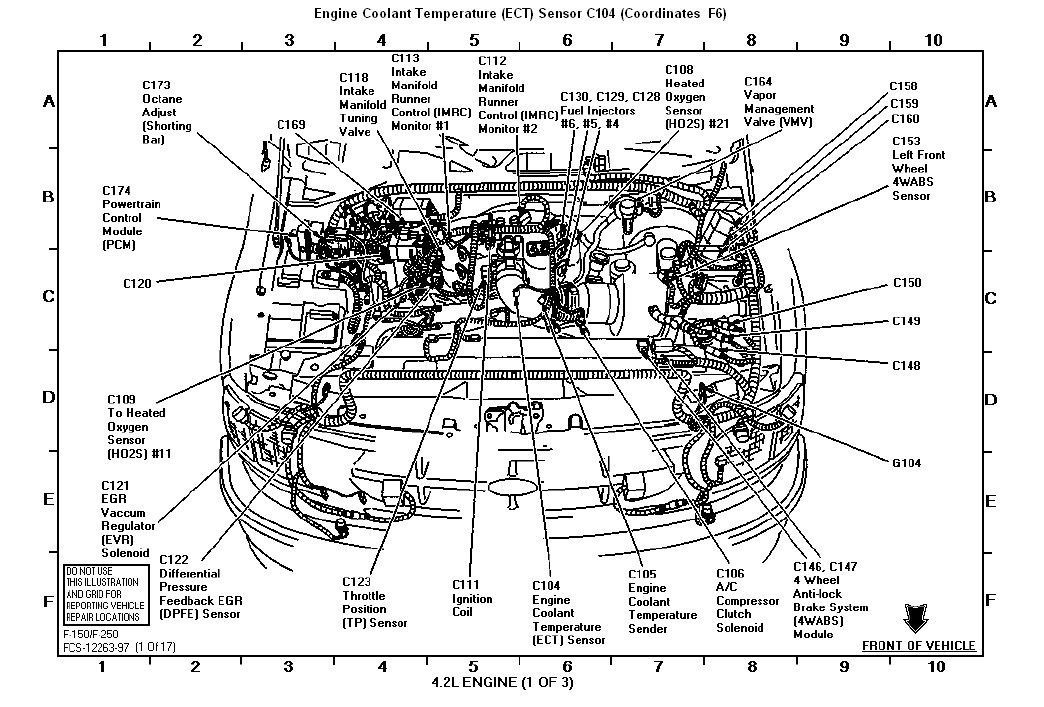 2003 ford taurus thermostat diagram