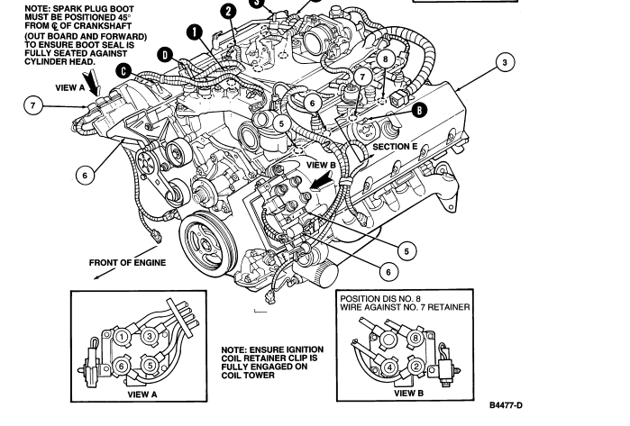 diagram of the mercury grand marquis ls engine