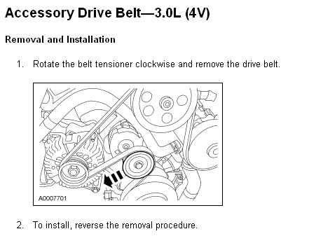 Now You Can Start Removing The Alternator