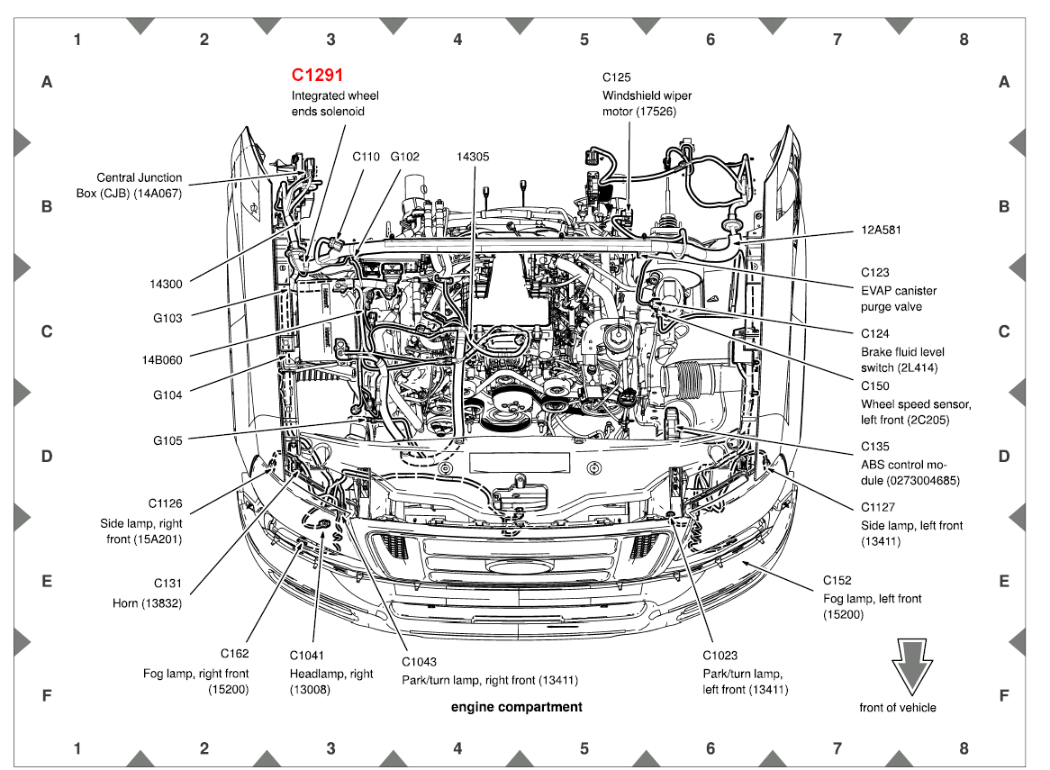 ford f 150 5 4 engine vacuum diagram