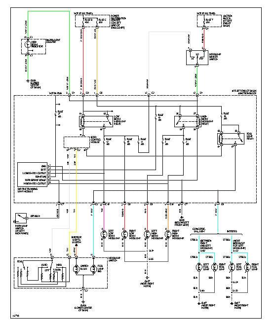 Combination Switch Wiring Diagram 2001 Intrepid